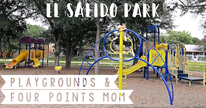 Swinging By Anderson Mill's El Salido Park