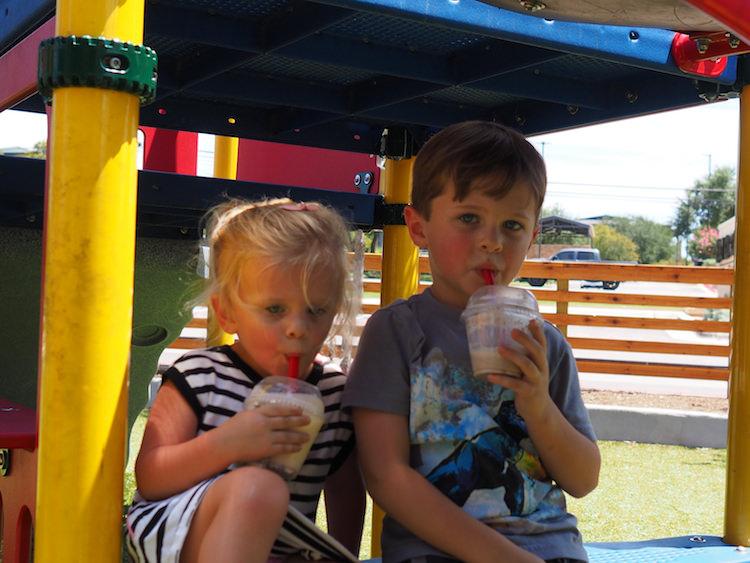 Hat Creek Milkshakes Lakeway Playground
