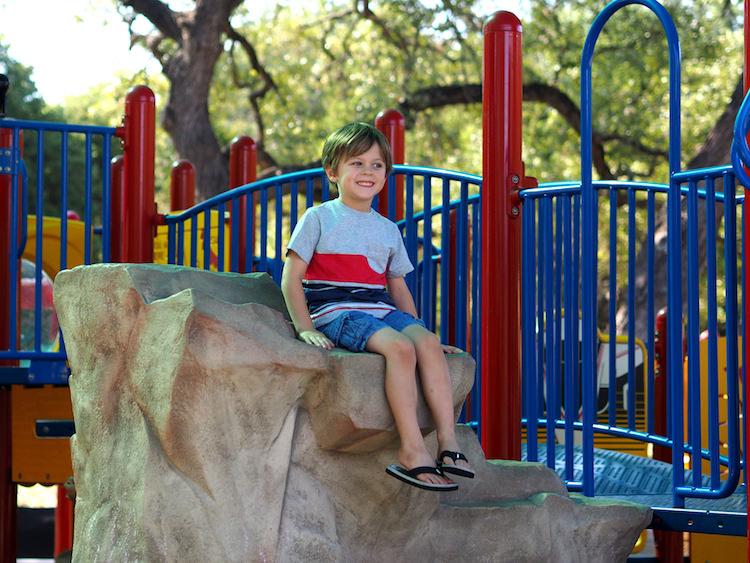 Trailhead Playground Rock