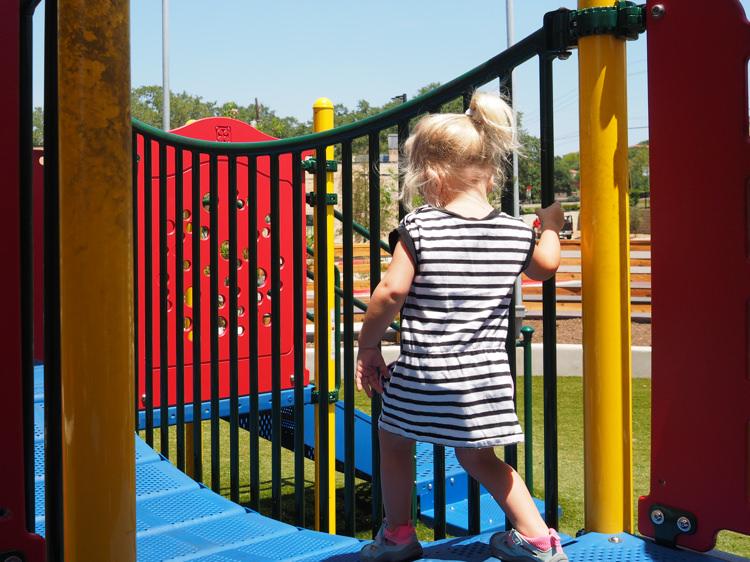 Parker Walking Hat Creek Playground