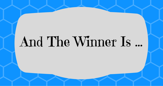 And The Giveaway Winner Is …