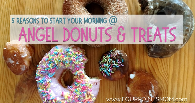 5 Reasons To Start Your Morning at Angel Donuts & Treats