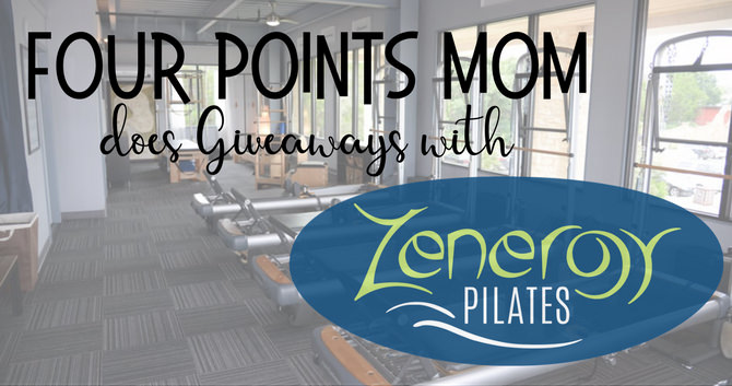 Four Points Mom does Giveaways with Zenergy Pilates