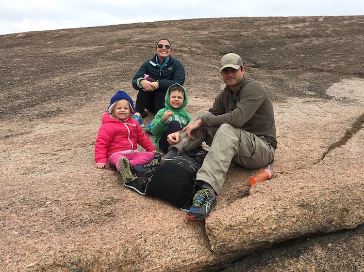Snack on Enchanted Rock
