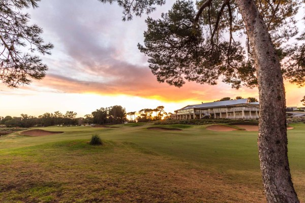 Glenelg Golf Club - 18th Hole & Clubhouse / Photo: David Brand