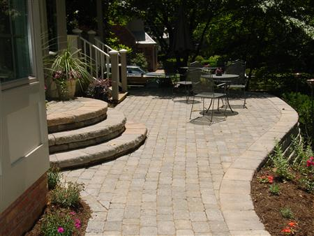 brick patio designs rockville md red