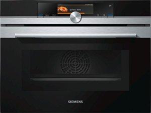 Siemens cn678g4s6Home Connect IQ526micro-ondes/1000W/45l/activeclean–Même de nettoyage automatique/Acier inoxydable