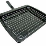 Spares2go Grill avec poignée et insert grille pour four Bompani + Spinflo Caravan (385 mm x 320 mm) + étagère extensible