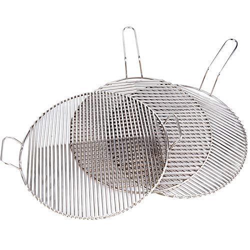 KEKEYANG Barbecue Griller panier, en acier inoxydable rugueux Grillnet Accueil Viande grillée Extérieur