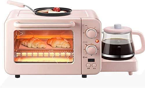 Multifonction 8L Four Grille-pain et jeux bouilloire, Home Premium automatique Petit déjeuner Machine avec pot, arrêt automatique lxhff KaiKai