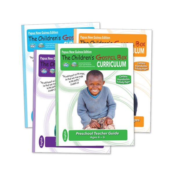 Gospel Light Curriculum-PNG Edition-English