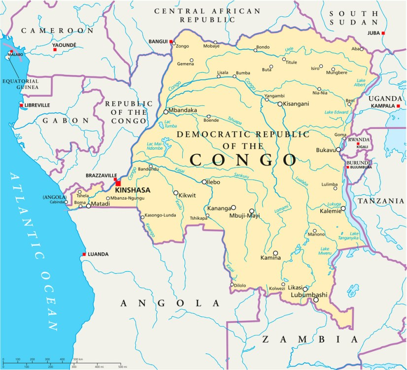 1000 Leaders Meeting in Congo - Foursquare Missions Press