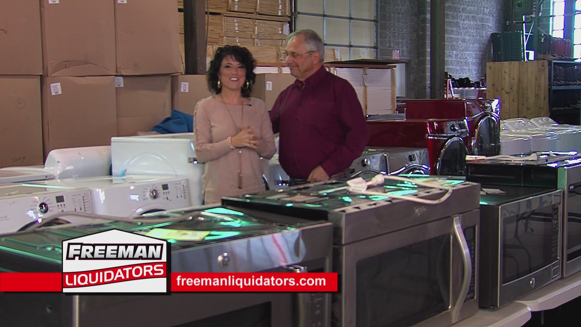 Freeman Liquidator's - New Appliances (111218)