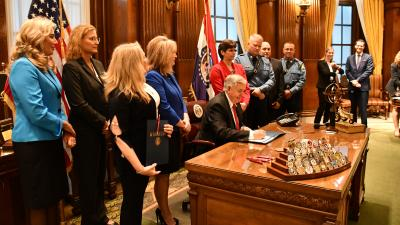 Gov. Mike Parson signs bills