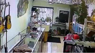 Pawn Shop Security Video