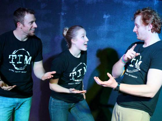 Performers from Tucson Improv Movement.