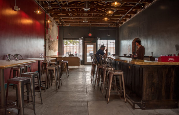 Interior Of Corbett Brewing In Tucson, AZ. Credit: Tucson Foodie