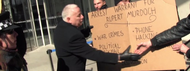 Still from Occupy Murdoch demo
