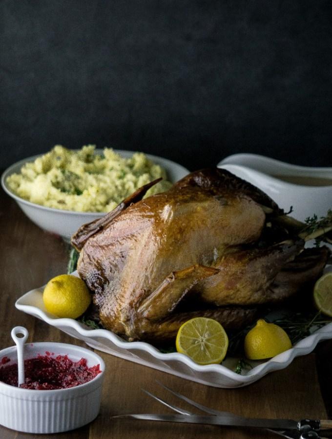 Roasted Earl Grey Turkey