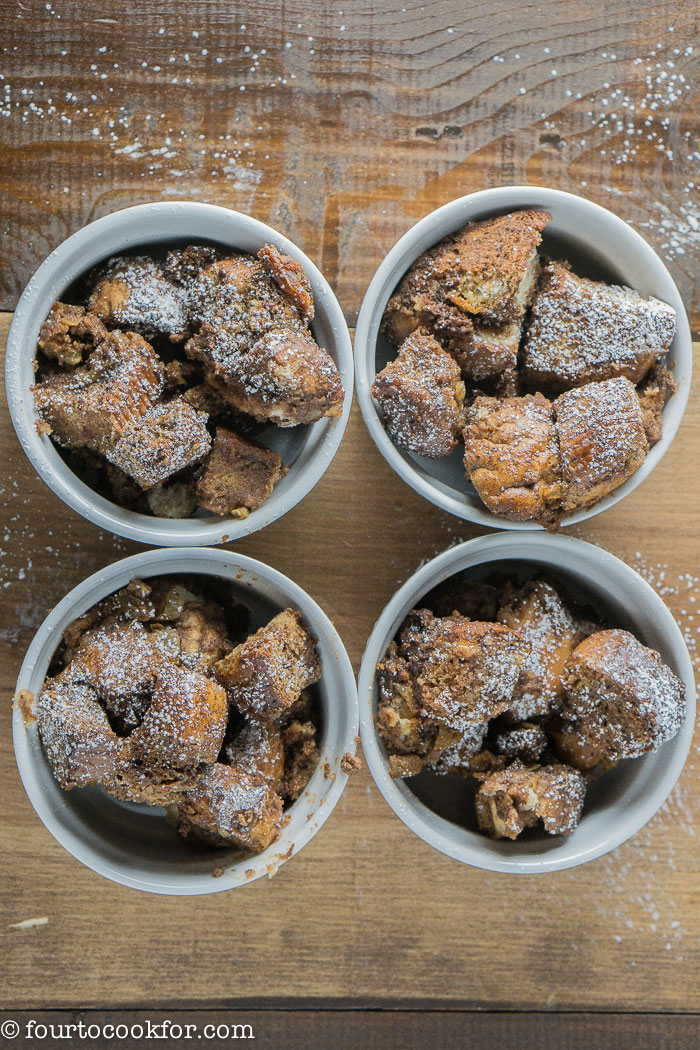 mexican chocolate bread pudding