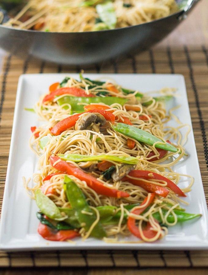 Easy Lo Mein Noodles