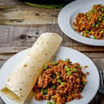 beef and pea ragout