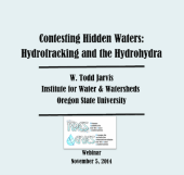 Contesting Hidden Waters_ Hydrofracking & the Hydrohydra