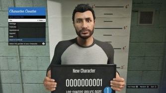 GTA Online Character Creation