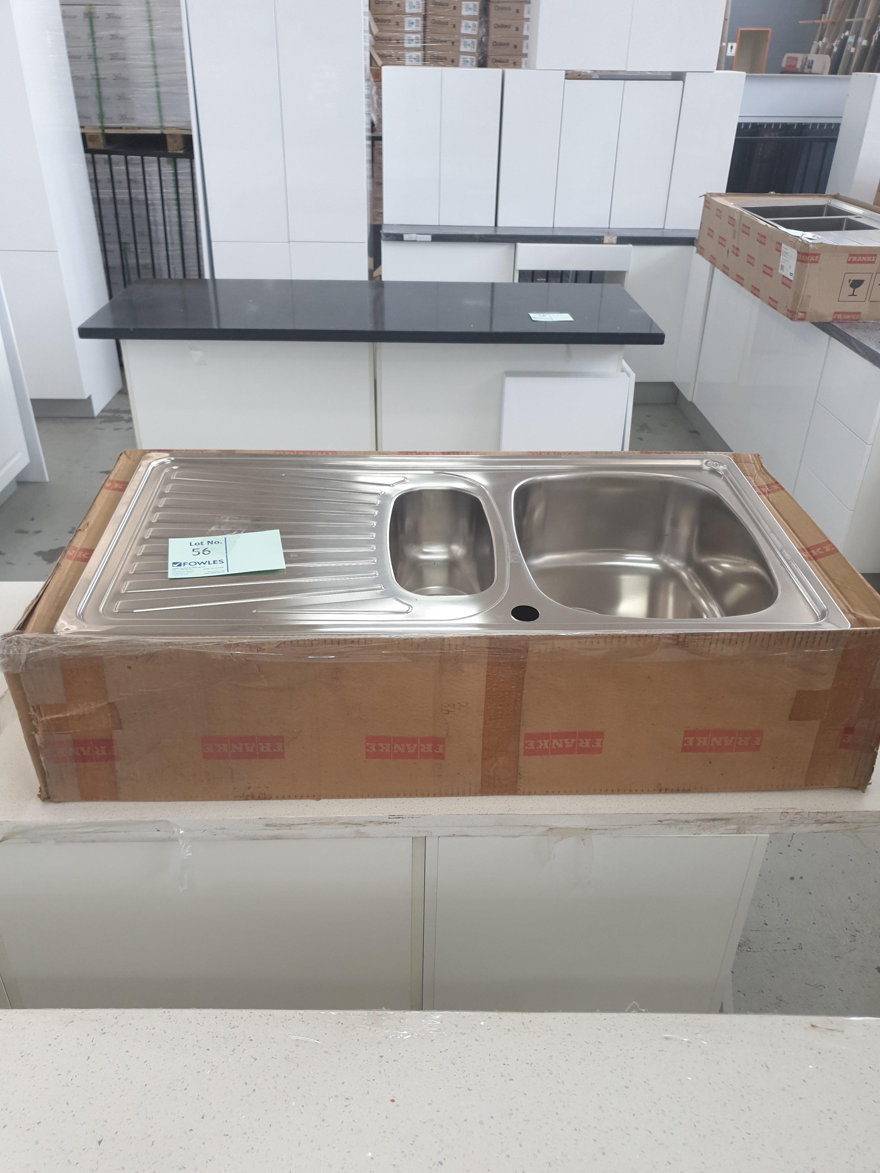 franke stainless steel kitchen sink 1