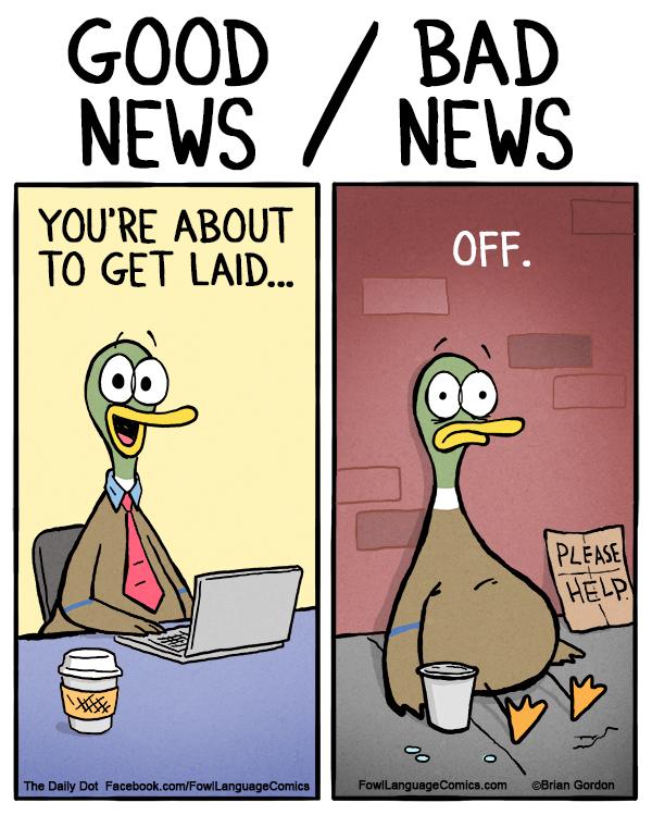 Get Laid - Fowl Language Comics