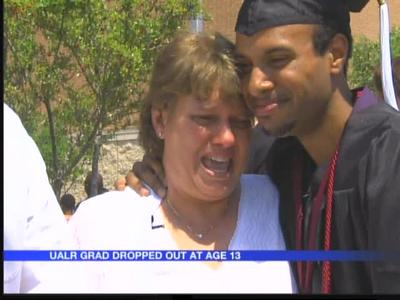 Katrina & cancer survivor graduates from UALR_6620317048261267114
