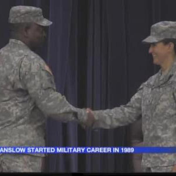 AR National Guard promotes woman to Brig. Gen._-1925397742856877957