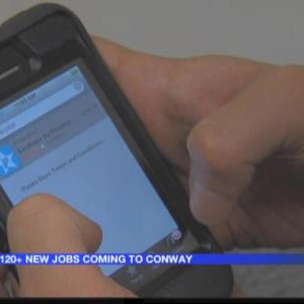 120+ new jobs heading to Conway_1661211813803740795