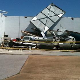 batesville airport damage 1_8773935707178289311