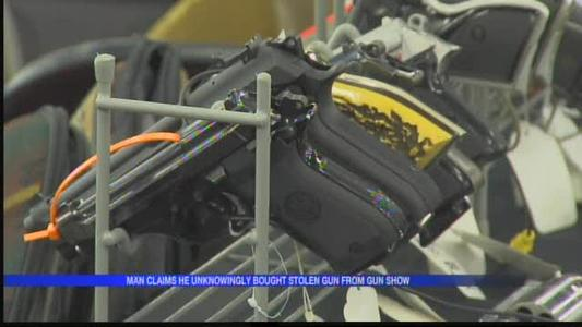 Man says he bought stolen gun at gun show, now faces felony_5152543797285438315