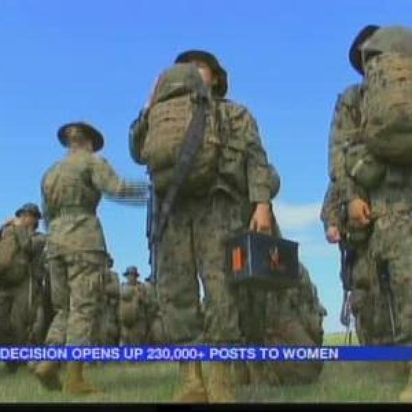 Former service member opposes women in combat_-1950874814173459521