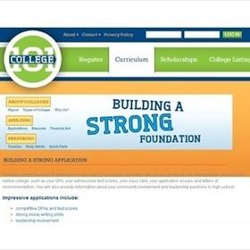 College 101 website screenshot_8072740544570081586