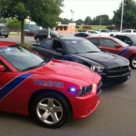 Low Profile Arkansas State Police patrol cars_-327571153105632632