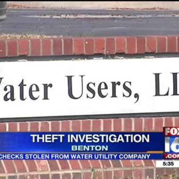 Checks Stolen From Benton Water Utility Company_-5819064036460507900