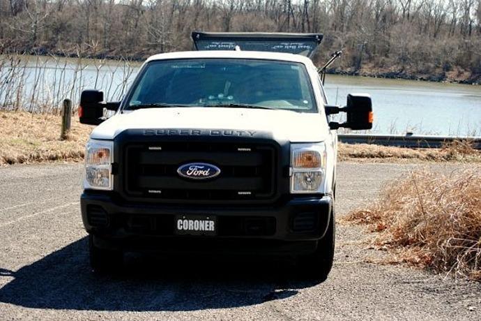 Pope County Coroner Truck at Arkansas River_-2800789256893085031
