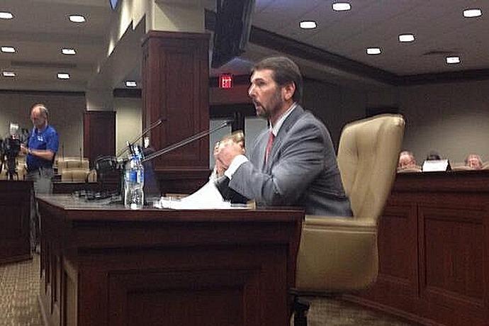 Scott Bennett testifies on AHTD icy roads response _2726914287019509857