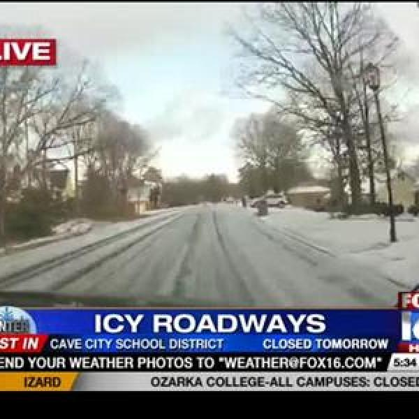 Driving in West Little Rock Early Monday Evening_-1579505055415057242