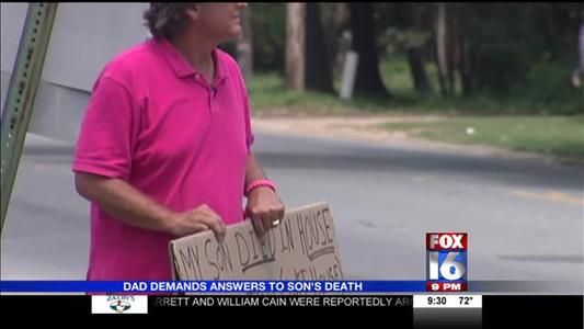 Conway Man Demands Answers on Son's Death_1868703511871704858