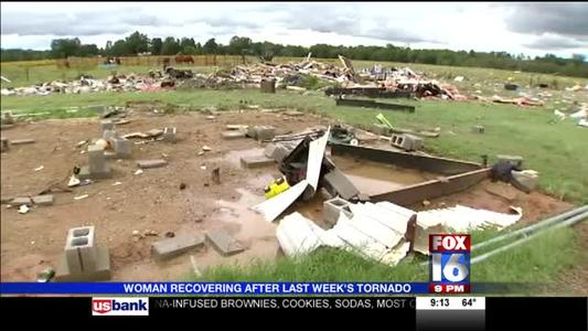 Marine Widow Recovering after Tornado_77103720365114498