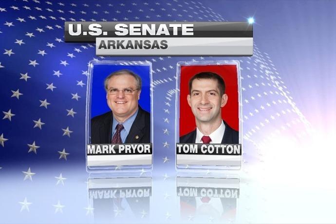 Senate Race - Cotton and Pryor_-8417461560797935997