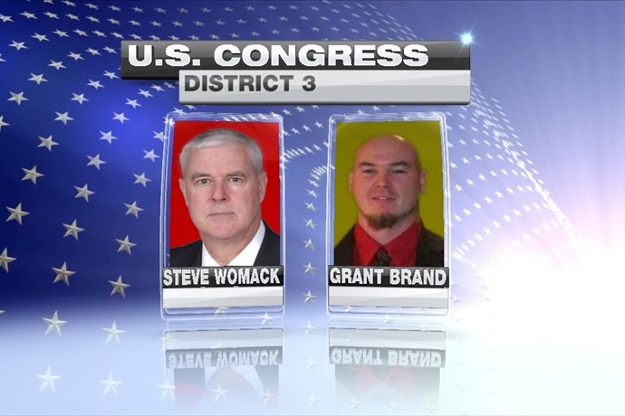 District 3 Race - Womack and Brand_-342302876838244569