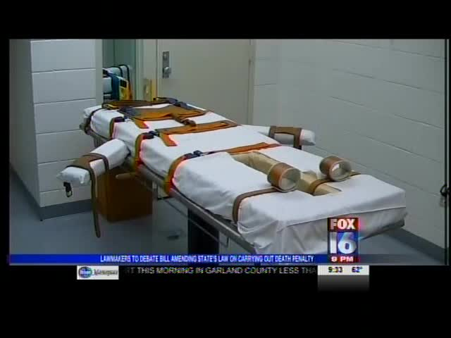 Lawmakers to Debate Bill Amending State's Law on Death Penal_1889213181046442987