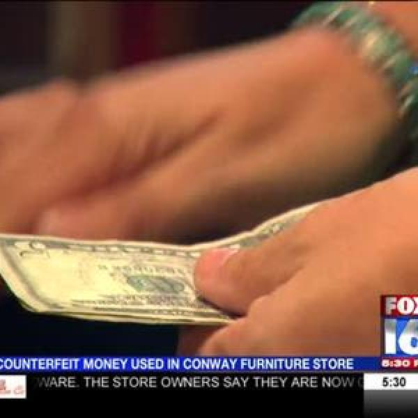 Counterfiet Money Used in Conway_-8918658464950235938