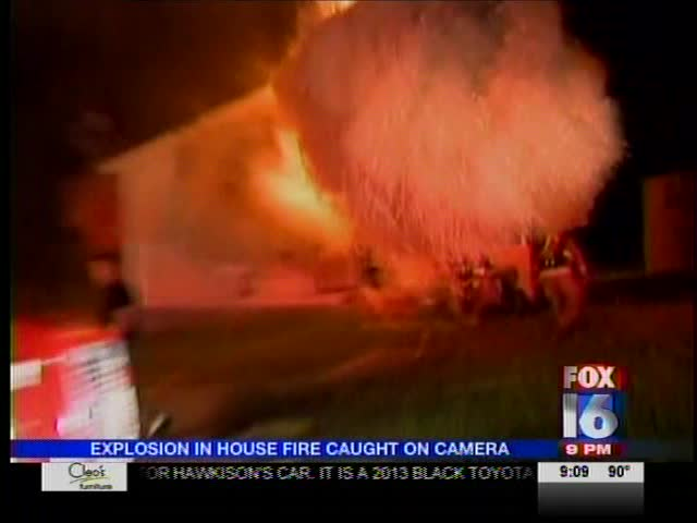 House Fire Back Draft in Texarkana_-7626564606848908427