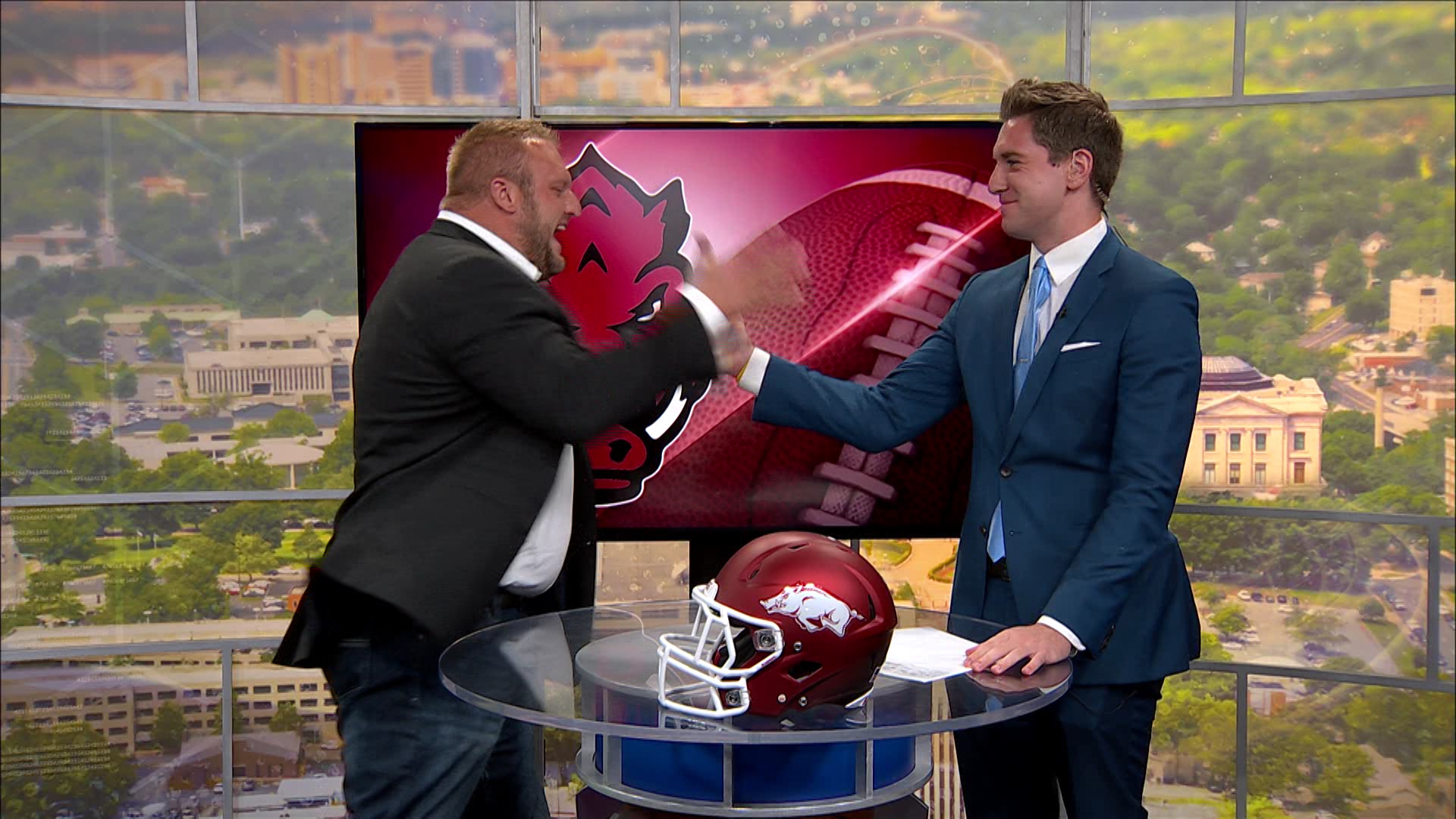 Web Extra: Ben Creighton & Mitch Petrus Preview Razorback Football 2018 Season